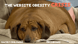 float-right Website Obesity Crisis