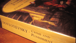 float-right Crime and Punishment: A Book