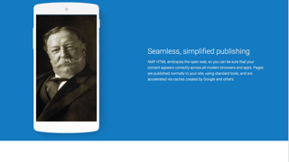 float-right Seamless, simplified publishing doesn't have to be a pile of shti