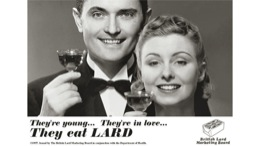 float-right They're young, they're in love, yet THEY EAT LARD