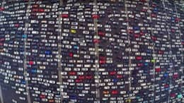 float-right A Traffic Jam in China